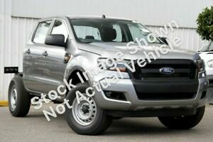 2016 Ford Ranger PX MkII MY17 XL 3.2 (4x4) Silver 6 Speed Manual Crew Cab Chassis Singleton Heights Singleton Area Preview