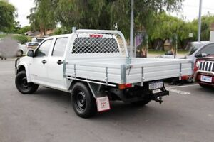 2010 Holden Colorado RC MY10.5 LX (4x4) White 5 Speed Manual Crew Cab Pickup