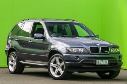 2002 BMW X5 E53 Steptronic Grey 5 Speed Sports Automatic Wagon Ringwood East Maroondah Area Preview