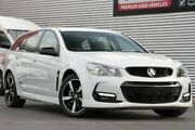2016 Holden Commodore VF II MY16 SV6 Sportwagon Black White 6 Speed Sports Automatic Wagon Adelaide CBD Adelaide City Preview