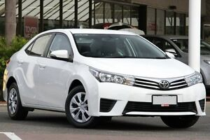 2015 Toyota Corolla ZRE182R Ascent S-CVT Glacier White 7 Speed Constant Variable Hatchback Christies Beach Morphett Vale Area Preview