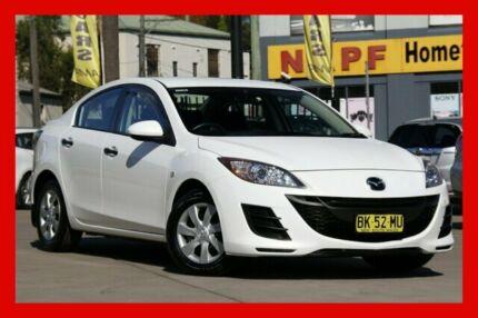 2011 Mazda 3 BL10F1 MY10 Neo Activematic White 5 Speed Sports Automatic Sedan Haberfield Ashfield Area Preview