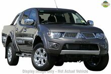 2013 Mitsubishi Triton MN MY13 GLX-R Double Cab Grey 5 Speed Manual Utility Cannington Canning Area Preview