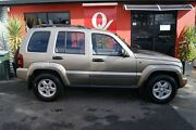 2007 Jeep Cherokee KJ MY05 Upgrade Sport (4x4) Gold 5 Speed Automatic Wagon Blair Athol Port Adelaide Area Preview