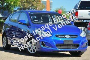 2013 Hyundai Accent RB Active Blue 4 Speed Sports Automatic Hatchback Slacks Creek Logan Area Preview