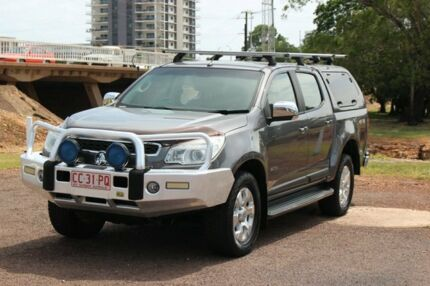 2013 Holden Colorado RG MY13 LTZ Crew Cab 4x2 Grey 6 Speed Automatic Crew Cab P/Up The Gardens Darwin City Preview