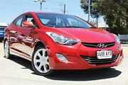 2013 Hyundai Elantra MD2 Premium Red 6 Speed Sports Automatic Sedan Hillcrest Port Adelaide Area Preview