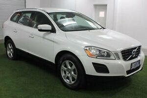2011 Volvo XC60 DZ MY11 T5 PwrShift White 6 Speed Sports Automatic Dual Clutch Wagon Moonah Glenorchy Area Preview
