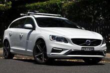 2014 Volvo V60 F MY15 T5 R-Design Ice White 8 Speed Automatic Wagon Mosman Mosman Area Preview