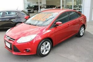 2012 Ford Focus LW Trend PwrShift Red 6 Speed Sports Automatic Dual Clutch Hatchback Mount Gravatt Brisbane South East Preview