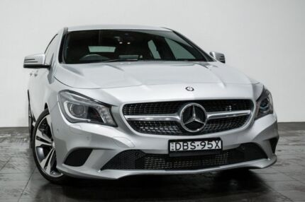 2015 Mercedes-Benz CLA200 X117 806MY Shooting Brake DCT Silver 7 Speed Sports Automatic Dual Clutch