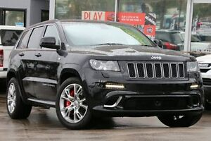 2012 Jeep Grand Cherokee WK MY12 SRT 8 (4x4) Black 5 Speed Automatic Wagon Dee Why Manly Area Preview
