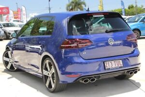 2013 Volkswagen Golf VII MY14 R DSG 4MOTION Blue 6 Speed Sports Automatic Dual Clutch Hatchback