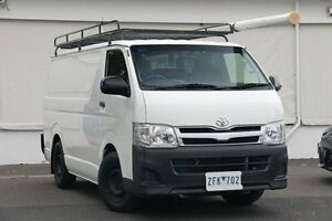 2012 Toyota Hiace KDH201R MY11 LWB White Solid 5 Speed Manual Van Upper Ferntree Gully Knox Area Preview