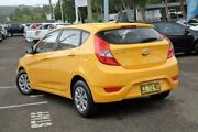2015 Hyundai Accent RB2 MY15 Active Yellow 4 Speed Sports Automatic Hatchback Gosford Gosford Area Preview