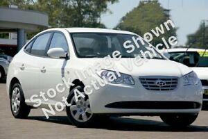 2009 Hyundai Elantra HD MY10 SX White 4 Speed Automatic Sedan Capalaba Brisbane South East Preview