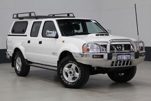 2014 Nissan Navara D22 Series 5 ST-R (4x4) White 5 Speed Manual Dual Cab Pick-up Bentley Canning Area Preview