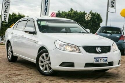 2010 Holden Epica EP MY10 CDX White 6 Speed Auto Seq Sportshift Sedan Embleton Bayswater Area Preview