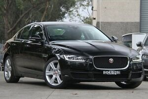 2016 Jaguar XE 20d PRESTIGE 20D Prestige Black 8 Speed Automatic Sedan Petersham Marrickville Area Preview