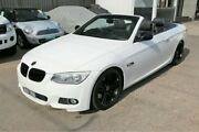 2011 BMW 335i E93 MY11 M Sport D-CT White 7 Speed Sports Automatic Dual Clutch Convertible Cheltenham Kingston Area Preview