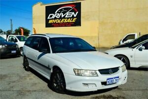 2004 Holden Commodore VZ Executive White 4 Speed Automatic Wagon Rockingham Rockingham Area Preview