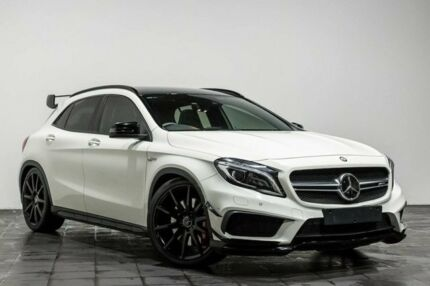 2015 Mercedes-Benz GLA 45 AMG 4MATIC X156 805 055MY AMG SPEEDSHIFT DCT 4MATIC White 7 Speed Rozelle Leichhardt Area Preview