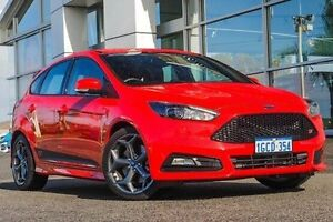 2015 Ford Focus LZ ST Red 6 Speed Manual Hatchback Bayswater Bayswater Area Preview