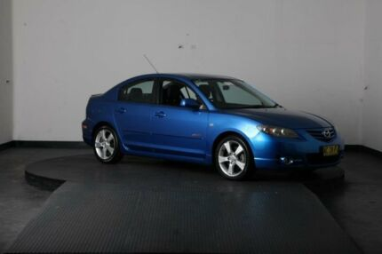 2004 Mazda 3 BK SP23 Blue 4 Speed Auto Activematic Sedan Greenacre Bankstown Area Preview