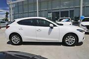 2017 Mazda 3 BN5476 Maxx SKYACTIV-MT White 6 Speed Manual Hatchback Kirrawee Sutherland Area Preview