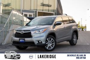 2014 Toyota Highlander XLE NAVI/LEATHER/ROOF
