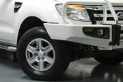 2012 Ford Ranger PX XLT Double Cab White 6 Speed Manual Utility Telarah Maitland Area Preview
