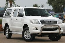 2011 Toyota Hilux KUN26R MY12 SR (4x4) White 4 Speed Automatic Dual Cab Pick-up Rosebery Inner Sydney Preview