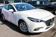 2017 Mazda 3 BN5278 Touring SKYACTIV-Drive White 6 Speed Sports Automatic Sedan Coburg Moreland Area Preview
