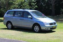 2012 Kia Grand Carnival VQ MY13 SI Crystal Blue 6 Speed Sports Automatic Wagon Port Macquarie Port Macquarie City Preview