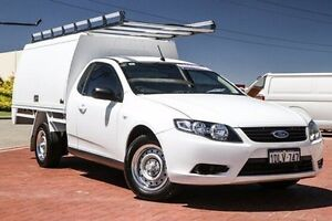 2010 Ford Falcon FG Super Cab White 6 Speed Sports Automatic Cab Chassis Spearwood Cockburn Area Preview
