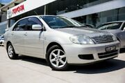 2006 Toyota Corolla ZZE122R 5Y Ascent Sport Silver 4 Speed Automatic Sedan Baulkham Hills The Hills District Preview