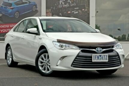 2015 Toyota Camry AVV50R Altise White 1 Speed Constant Variable Sedan Hybrid Ferntree Gully Knox Area Preview