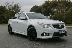 2012 Holden Cruze JH MY12 SRi V White 6 Speed Automatic Sedan Hillman Rockingham Area Preview