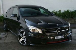 2015 Mercedes-Benz CLA250 Black Sports Automatic Dual Clutch Wagon Burwood Whitehorse Area Preview