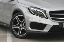 2015 Mercedes-Benz GLA 250 4MATIC  Silver Sports Automatic Dual Clutch Wagon Ringwood East Maroondah Area Preview