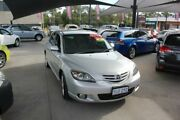2004 Mazda 3 BK SP23 Silver 5 Speed Manual Hatchback Mitchell Gungahlin Area Preview