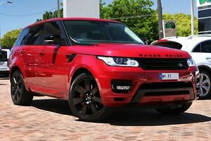 2014 Land Rover Range Rover Sport L494 MY14.5 SDV6 CommandShift HSE Red 8 Speed Sports Automatic Osborne Park Stirling Area Preview