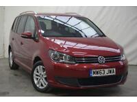 2013 Volkswagen Touran 1.6 SE TDI BLUEMOTION TECHNOLOGY DSG 5d AUTO 106 B Diesel