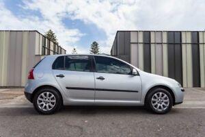 2007 Volkswagen Golf V MY07 Comfortline Silver 6 Speed Manual Hatchback