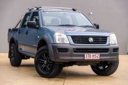 2004 Holden Rodeo RA LX Crew Cab Blue 4 Speed Automatic Utility