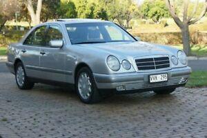 1996 Mercedes-Benz E320 W210 Elegance Zircon Silver 4 Speed Automatic Sedan Blair Athol Port Adelaide Area Preview