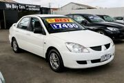 2005 Mitsubishi Lancer CH MY05 ES White 4 Speed Automatic Sedan Ringwood East Maroondah Area Preview