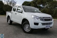 2013 Isuzu D-MAX TF MY12 SX HI-Ride (4x2) Splash White 5 Speed Automatic Crewcab Hillman Rockingham Area Preview