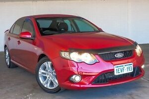 2010 Ford Falcon FG XR6 Red 5 Speed Sports Automatic Sedan Bellevue Swan Area Preview