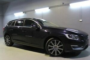 2014 Volvo V60 F Series MY14 T5 PwrShift Luxury Black 6 Speed Sports Automatic Dual Clutch Wagon Invermay Launceston Area Preview